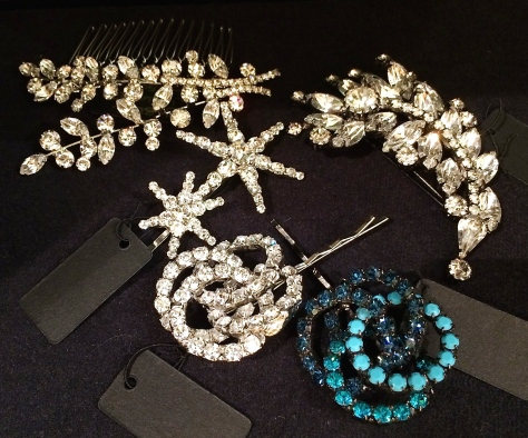 Hair accessories by Jennifer Behr