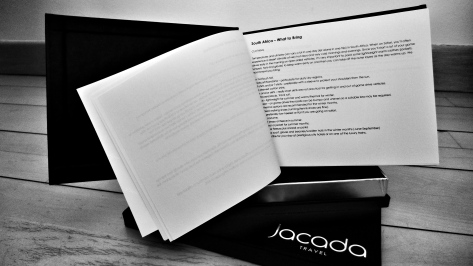 Personalised guidebook from Jacada